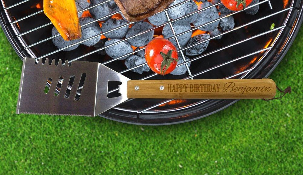 "Happy Birthday BBQ Tool ""Temporarily Out of Stock"""
