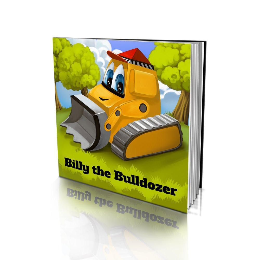 Large Soft Cover Story Book - The Bulldozer