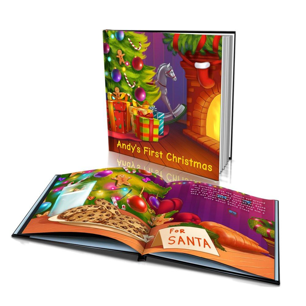 Hard Cover Story Book - First Christmas