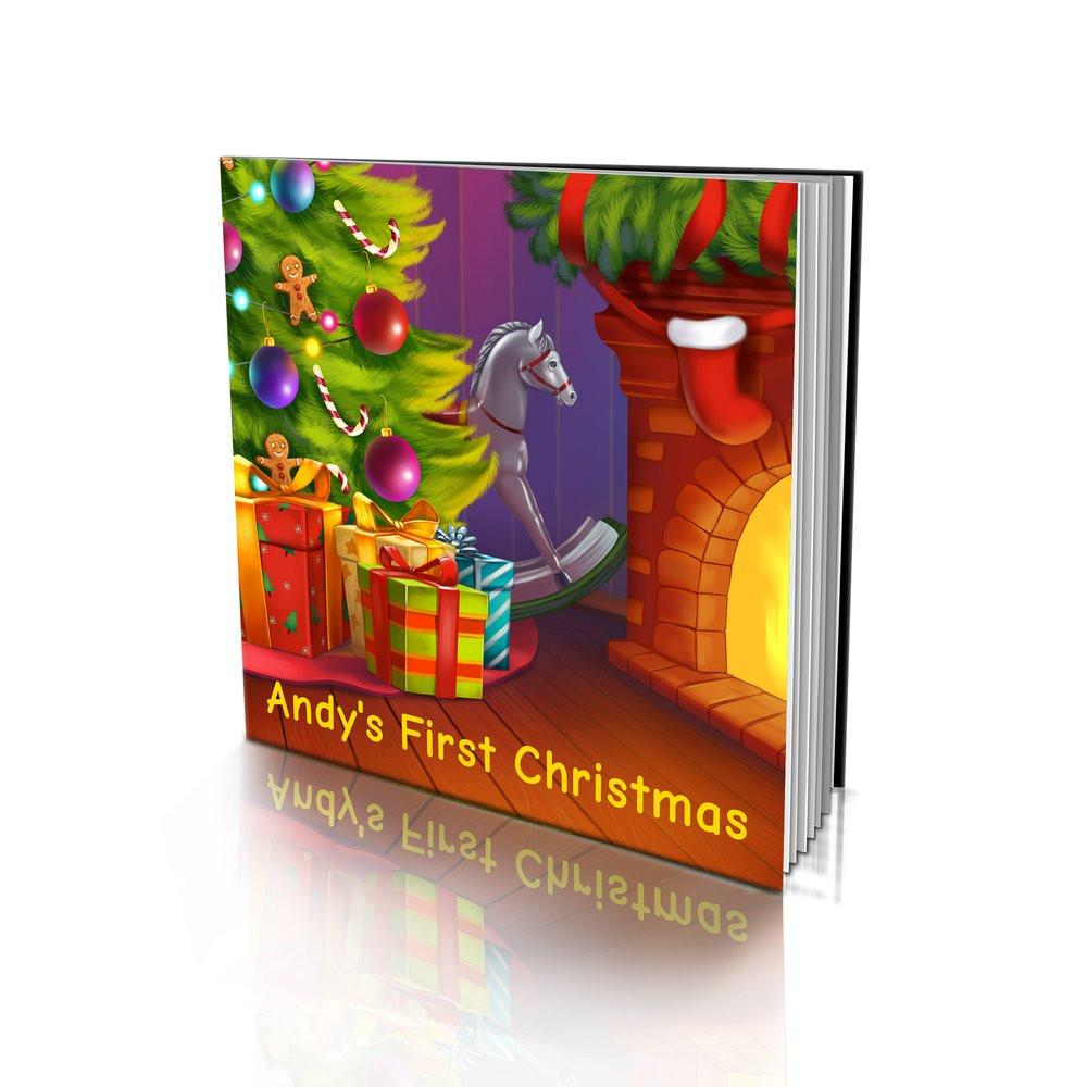 Soft Cover Story Book - First Christmas