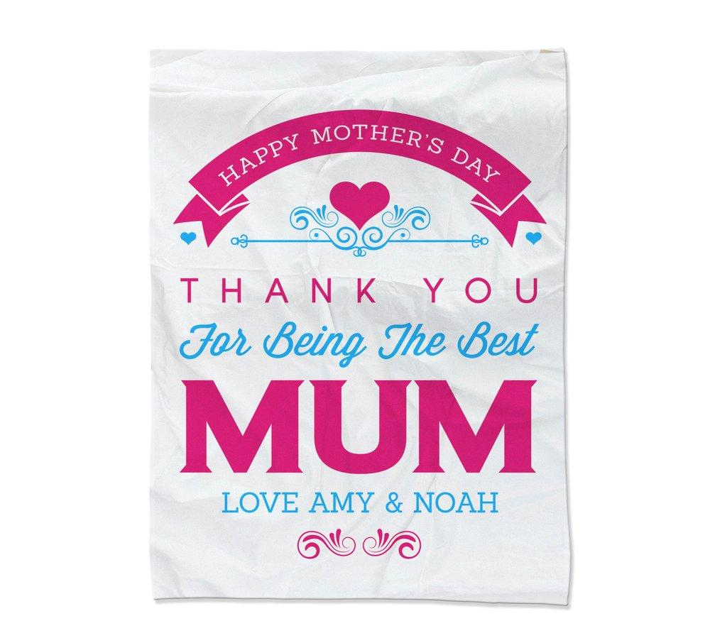 Best Mum Blanket - Large (Temporary Out of Stock)