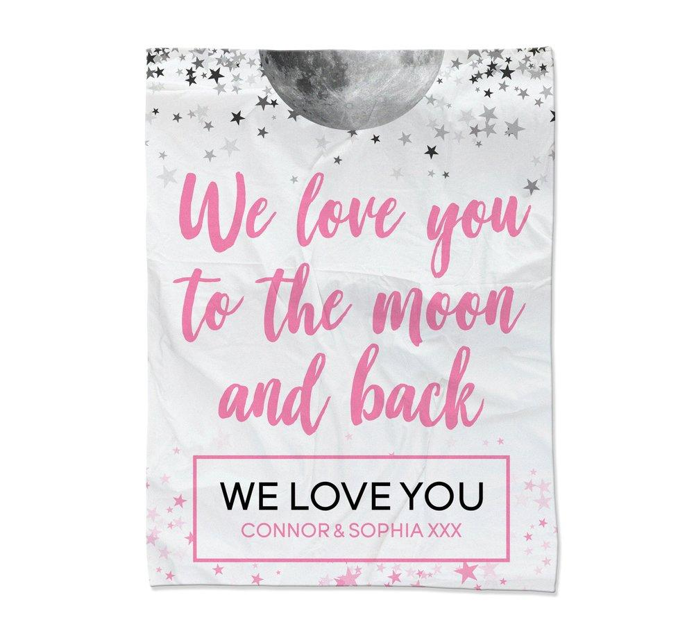 Moon & Back Blanket - Medium