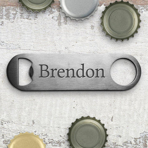 Name Engraved Bottle Opener