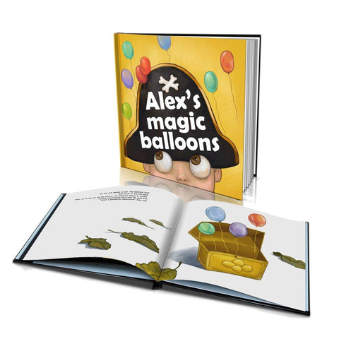 The Magic Balloons Large Hard Cover Story Book