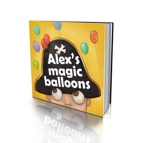 The Magic Balloons Soft Cover Story Book