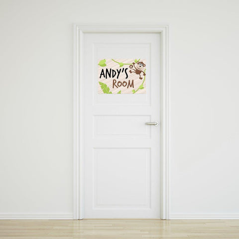 Monkey Door Sign - Small