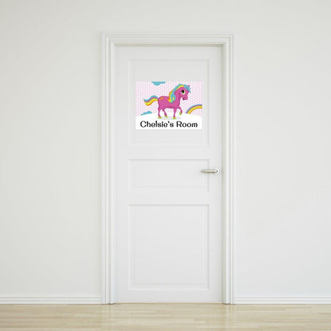 Pony Door Sign - Medium