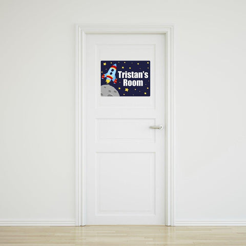 Rocket Door Sign - Medium