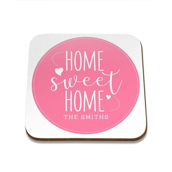 Home Sweet Home Square Coaster - Set of 4