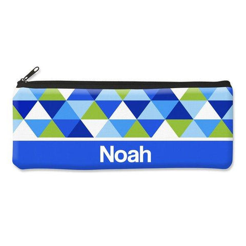 Geometric Pencil Case - Large