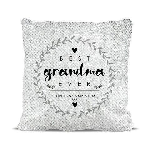 Best Ever Magic Sequin Cushion Cover