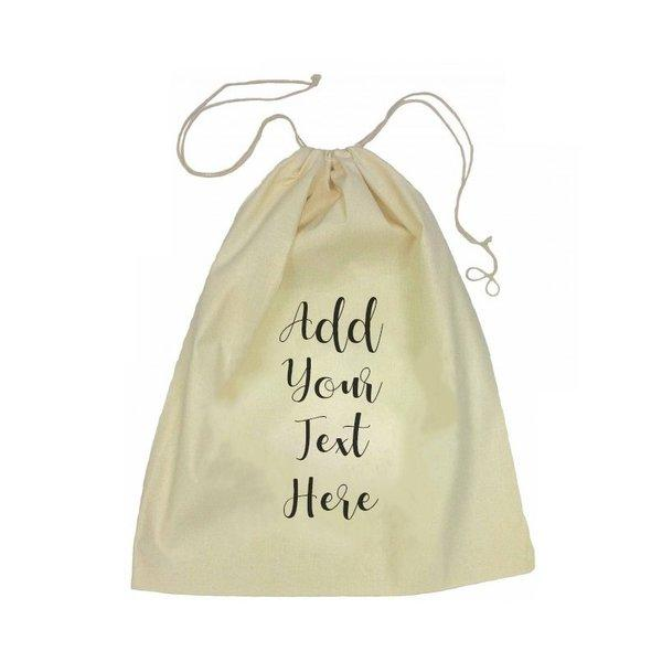 Drawstring Bag - Add Your Own Message