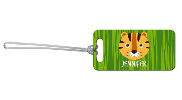 Tiger Bag Tag