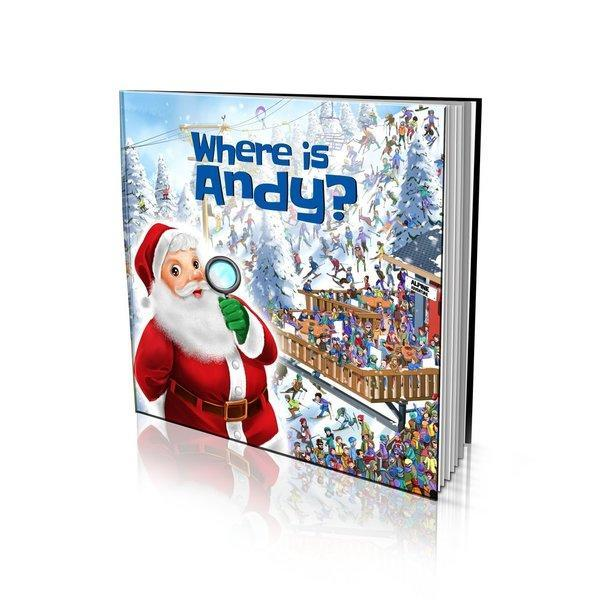 Where is Santa? Large Soft Cover Story Book