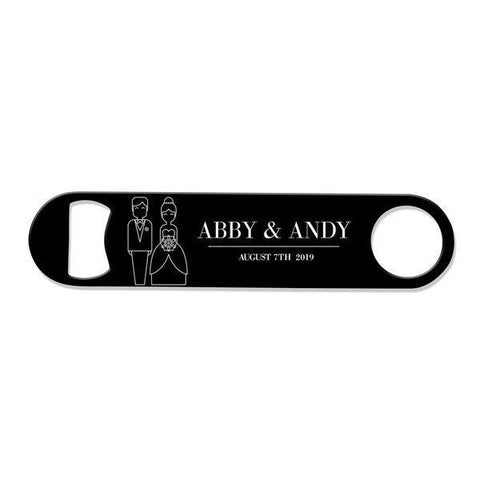 Bride & Groom Bottle Opener