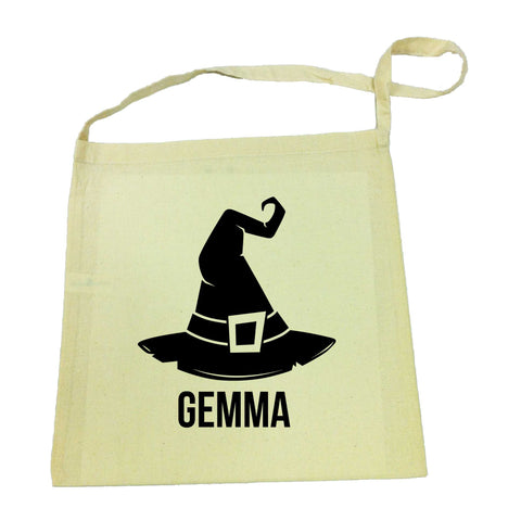 Halloween Witch Hat Tote Bag