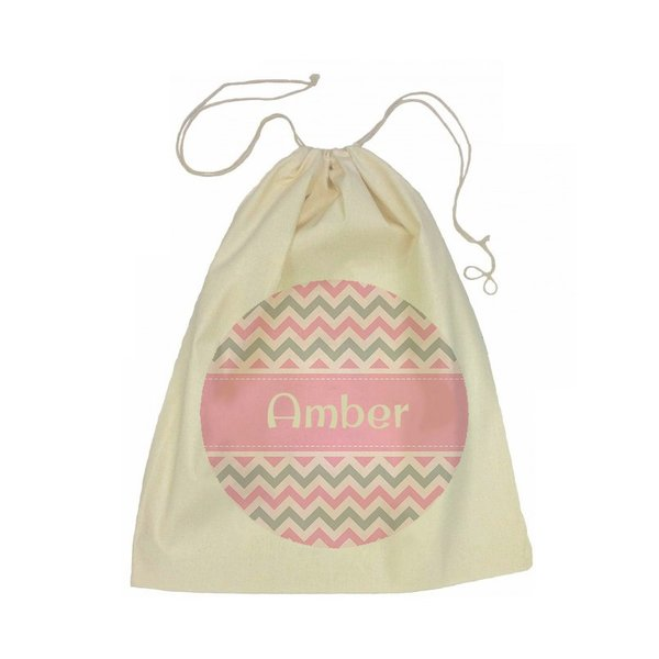 Drawstring Bag - Chevron