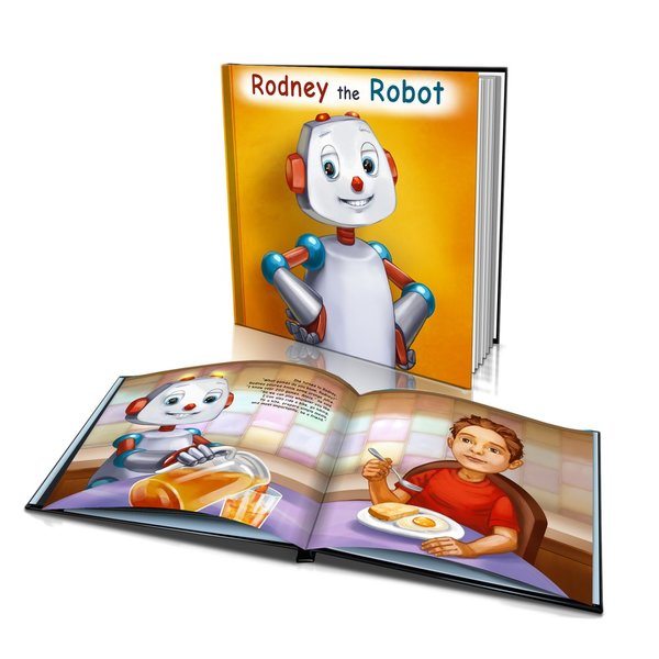 Hard Cover Story Book - Rodney the Robot