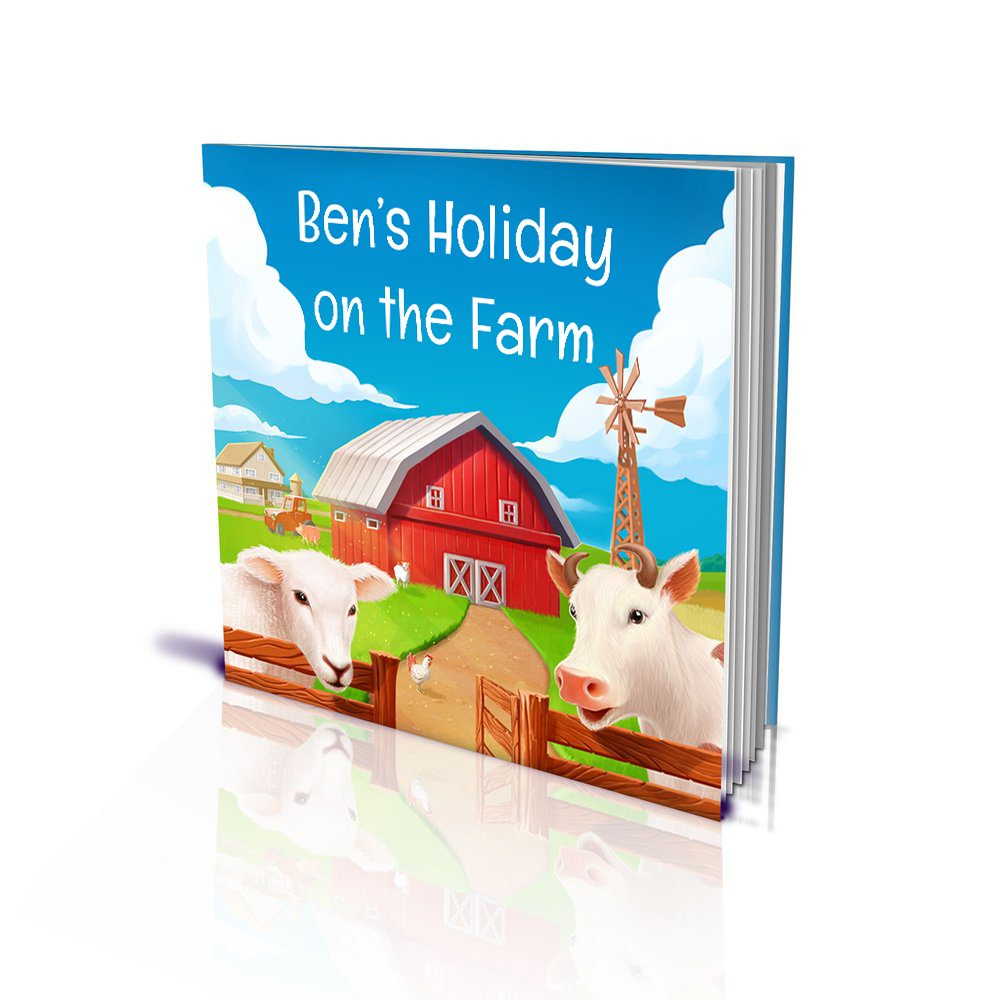 Large Soft Cover Story Book - Holiday on the Farm