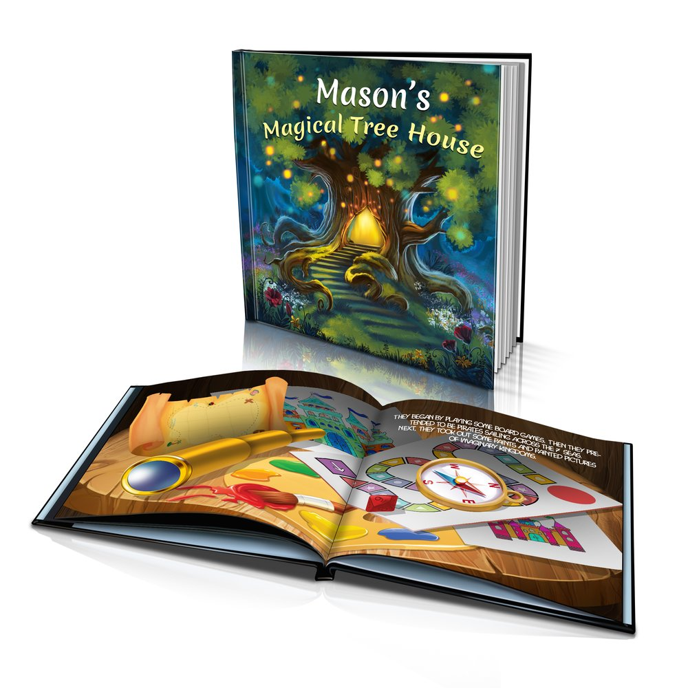 Hard Cover Story Book - Magical Tree House