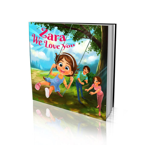 We Love You Hard Cover Story Book