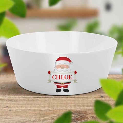 Santa Sign Kids Bowl (Temporarily Out of Stock)