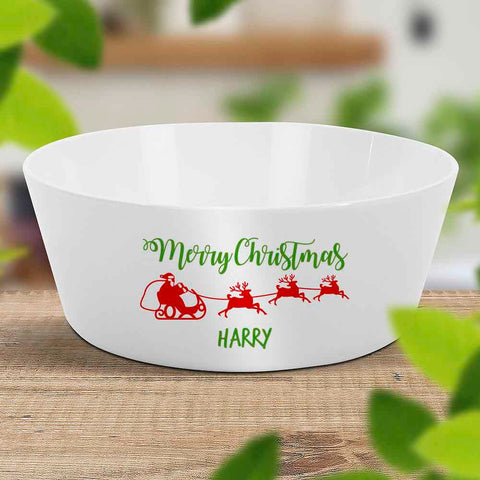 Santa Sleigh Kids Bowl (Temporarily Out of Stock)