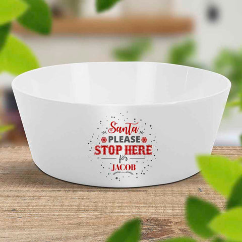 Santa Stop Kids Bowl (Temporarily Out of Stock)