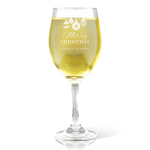 Bauble Wine Glass  410ml
