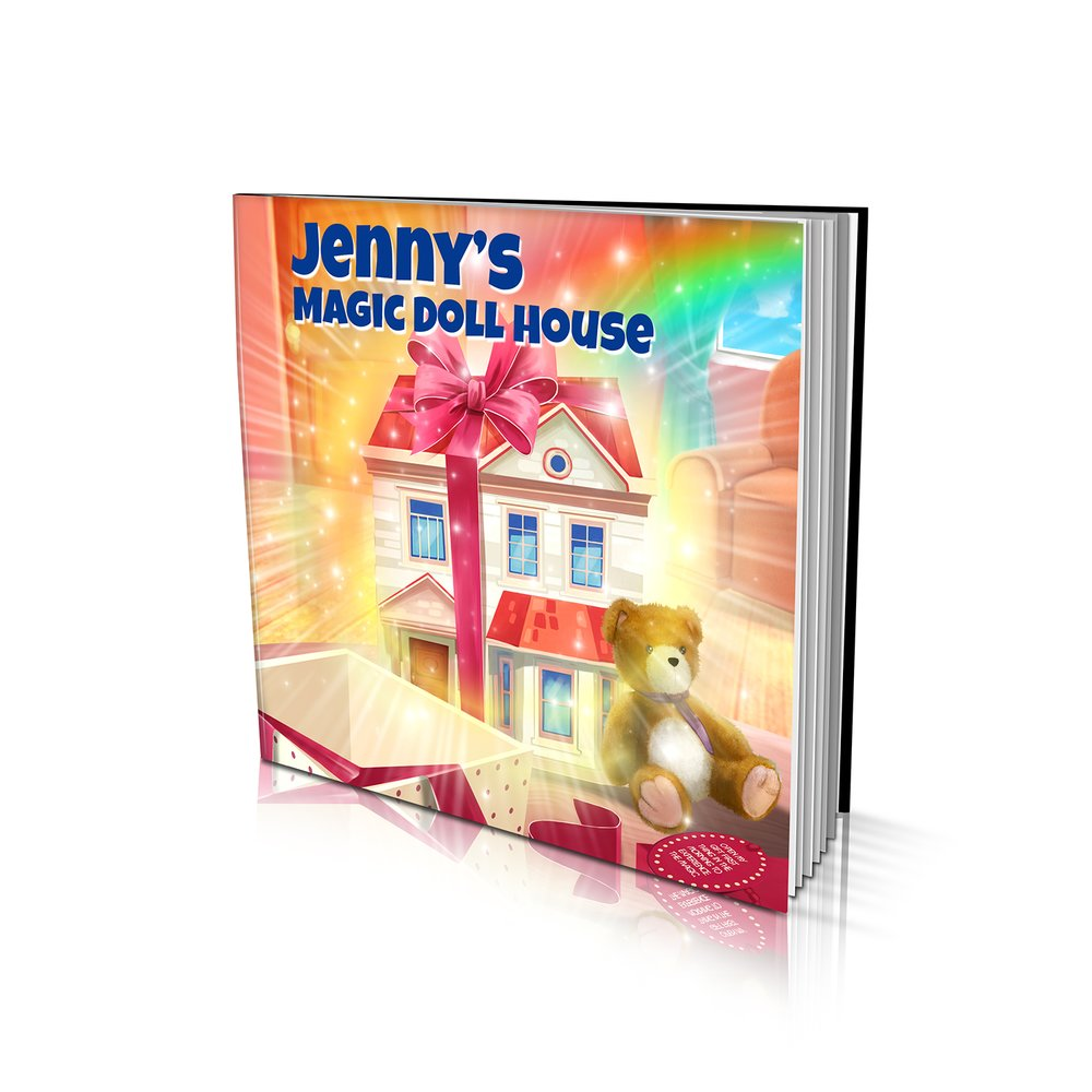 Large Soft Cover Story Book - The Doll House