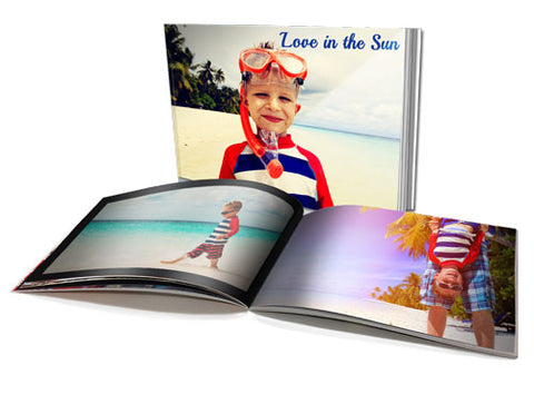 "11x8.5"" Personalised Soft Cover Photo Book"