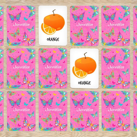 Butterfly Memory Game