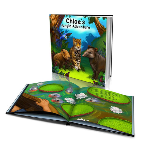 Hard Cover Story Book - Jungle Adventure