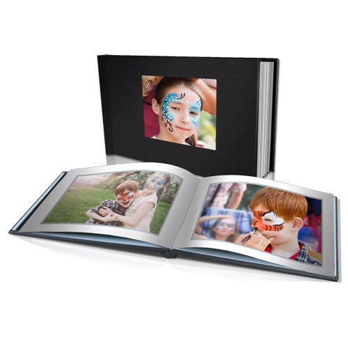 "11 x 8.5"" Classic Hard Linen Cover Photo Book"