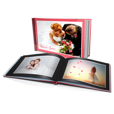 "11 x 8.5""  Personalised Hard Cover Photo Book"