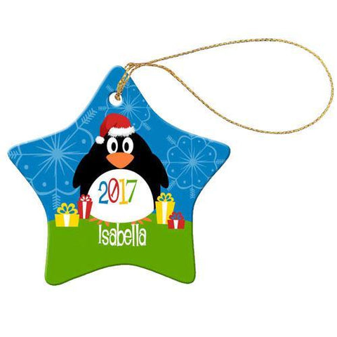 Big Penguin Star Decoration