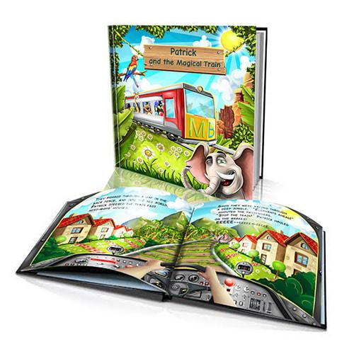 Hard Cover Story Book - The Magic Train
