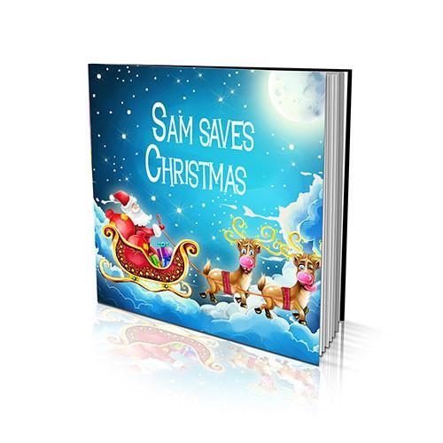 Soft Cover Story Book - Saving Christmas