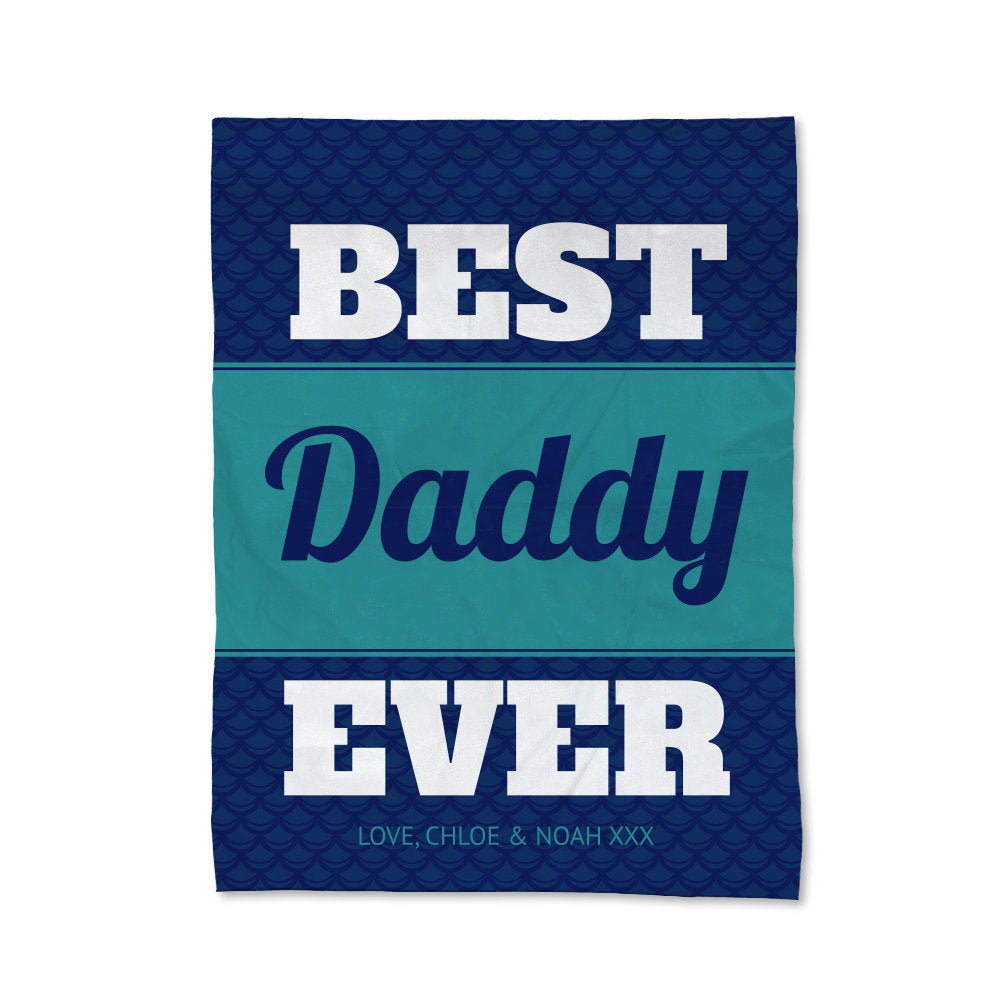 Best Daddy Blanket - Large (Temporary Out of Stock)