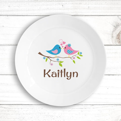 Two Birds Kids Plate