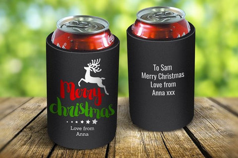Reindeer Christmas Drink Cooler