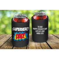 Superhero Dad Drink Cooler