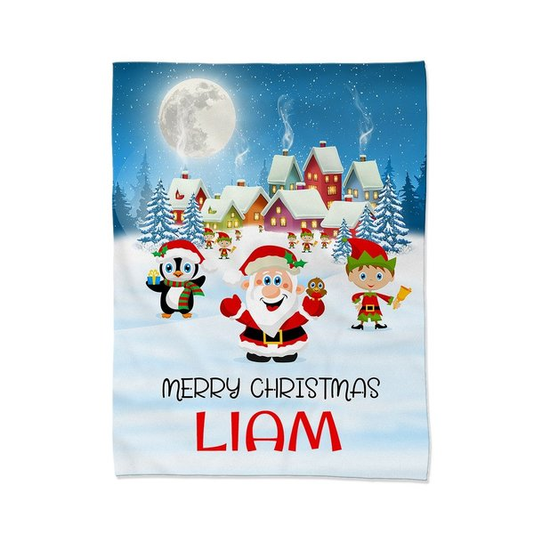 Christmas Village Blanket - Medium