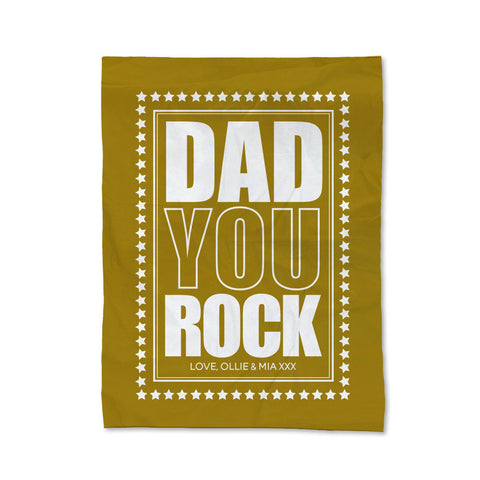 You Rock Blanket - Medium