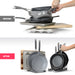 7+ Pans Better Things Home Expandable Pan Organizer Rack