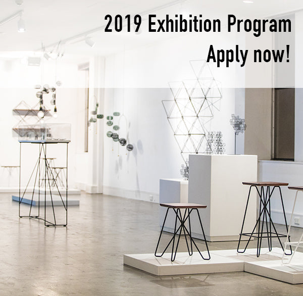 2019 Exhibition Program: Applications now open