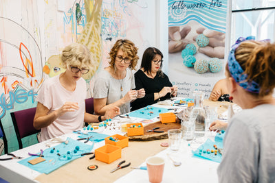 Mini dilly bag workshop