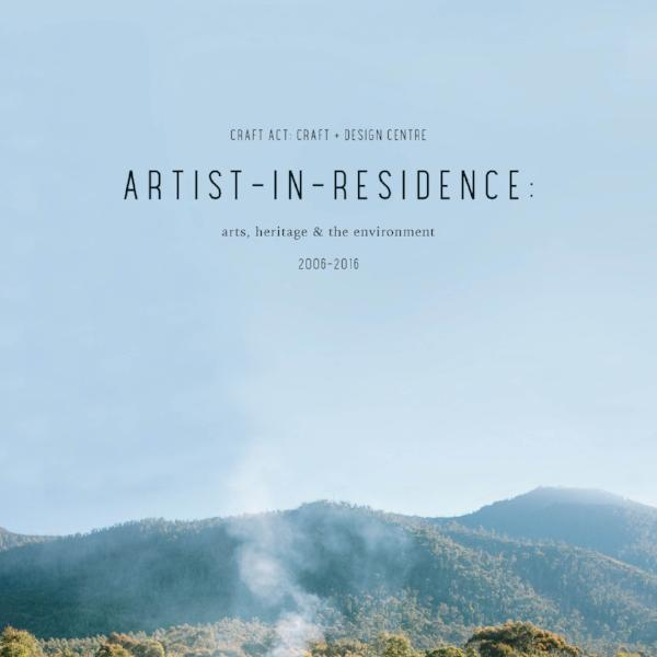 Artist-in-Residence 10 Year Celebration Catalogue