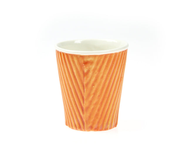 Takeaway Cup Made Permanent Ceramic