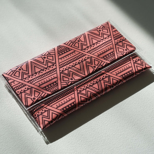 Screen Printed Clutch
